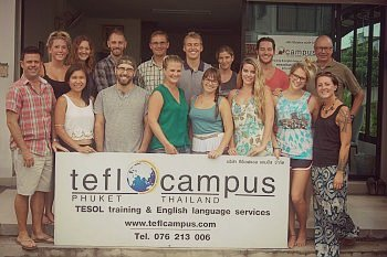TEFL Certification at TEFL Campus in Phuket, Thailand - TEFL teacher training