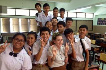 TEFL Campus Graduate, Certified Teacher Kate Parkin in Phuket, Thailand