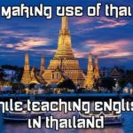 speaking Thai in the classroom