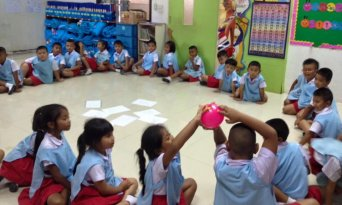 Teaching Kids at TEFL Campus in Phuket, Thailand