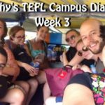TEFL Campus Trainees in the Tuk Tuk in Phuket, Thailand
