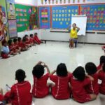 Teaching Colours at TEFL Campus in Phuket, Thailand