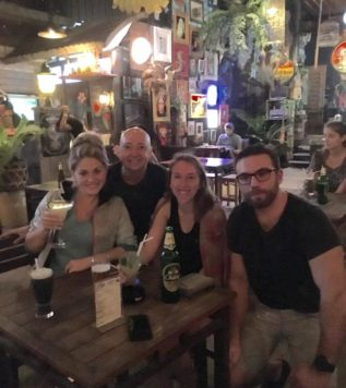 TEFL Campus Trainees Friday Drinks in Phuket, Thailand