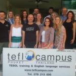 TEFL Campus Graduates January 2017 in Phuket, Thailand