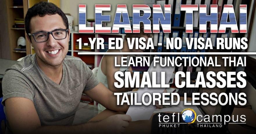 learn Thai, learning Thai, Thai language lessons, Thai lessons, ED visa, Thailand ED visa, education visa, live in Thailand, stay in Thailand